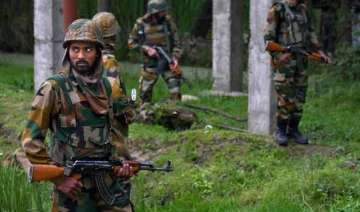 two guerrillas gunned down in kashmir - India TV
