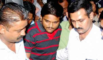 hardik patel s intention was to wage war against...