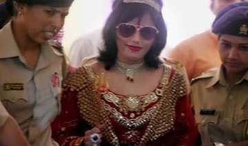 radhe maa questioned for second time in dowry...