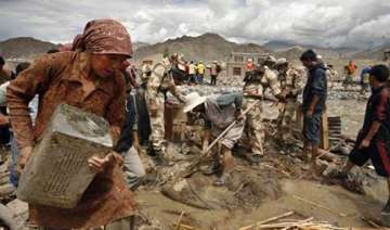 leh death toll rises to 165 81 foreigners rescued...