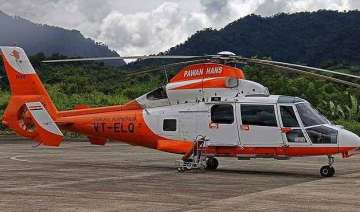 pawan hans chopper goes missing in arunachal...