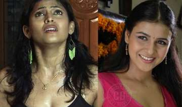 two telugu film actresses among 9 caught in...