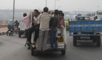 overloaded gramin sewa autos unstable threat to...