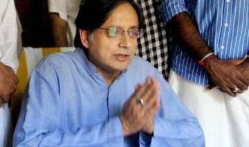 no plan to question tharoor any time soon delhi...