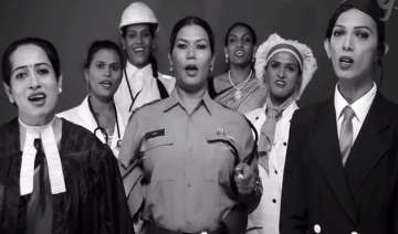 watch video transgenders singing jana gana mana...