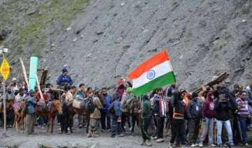 another batch of 418 pilgrims leave jammu for...