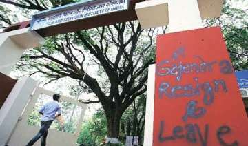 i b team arrives in ftii optimistic of resolving...