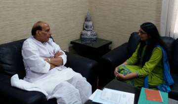 dcw chief swati maliwal meets rajnath singh over...