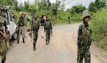 insurgents ambush two security posts in manipur -...