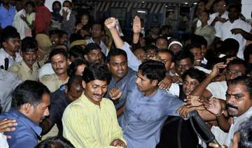 jagan faces ire of telangana supporters - India TV