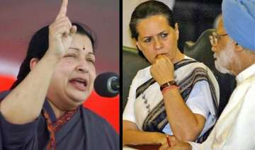 jayalalithaa seeks explanation from pm sonia in...