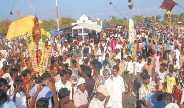 katchatheevu church feast all 3 160 pilgrims back...