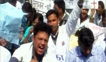 kanpur doctors refuse to come out of jail on bail...