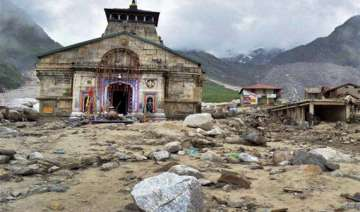 kedarnath reconstruction work to start soon...