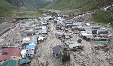 kedarnath shrine stands alone amidst death and...
