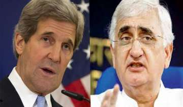 khurshid kerry begin talks - India TV