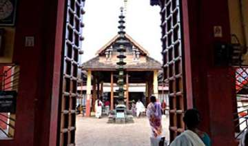 know a temple in kerala where devotees offer...
