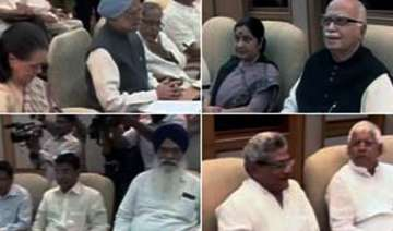 all party meet agrees on strong lokpal bill in...