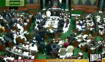 lokpal bill introduced in lok sabha parties...