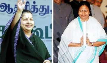 mamata demolishes red bastion jaya ousts dmk cong...