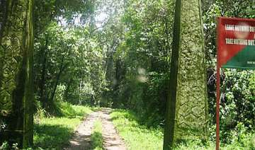 man walks 40km through forest with pregnant wife...