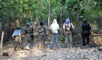 maoists attack bsf convoy in odisha four jawans...