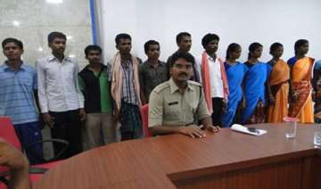 12 maoists surrender in odisha - India TV