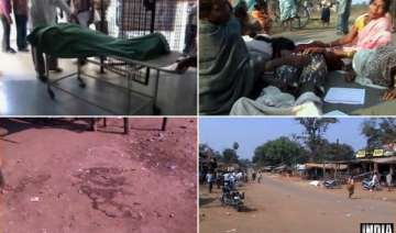 maoists shot panchayat chief in the open in...
