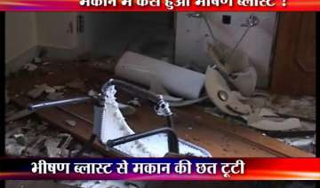 meerut lawyer s house blown up in mysterious...
