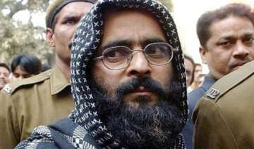 mercy petition of afzal guru to be decided by...