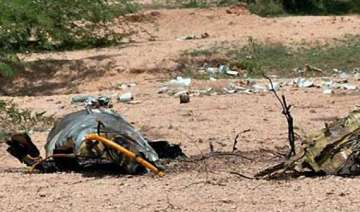 mig 21 crashes in rajasthan pilot ejects safely -...