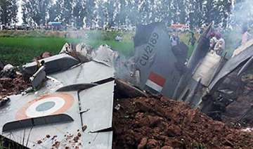 mig 21 crashes in haryana pilot safe - India TV