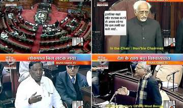 mid night drama in rajya sabha over lokpal bill -...