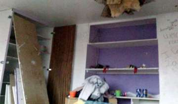 minor girl dies as part of ceiling falls 3 others...