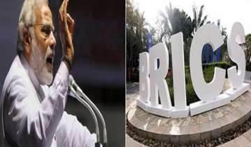 narendra modi presented first brics university...