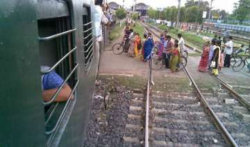 mother and son run over and killed by train at...