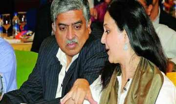 nandan nilekani wife s assets declared at rs 7...