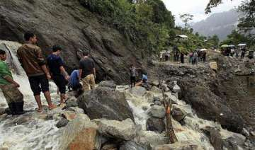 nearly 600 tourists stranded in sikkim due to...