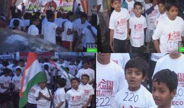 nearly 500 run against corruption on r day in...