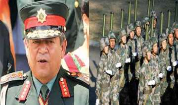 nepalese army chief general gaurav shumsher rana...