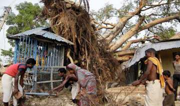 nine killed as thunderstorm hits west bengal -...
