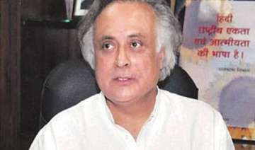 no differences with home ministry says jairam...