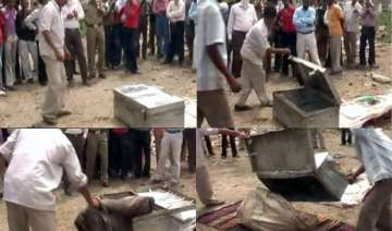 nude body of woman lands in a courier godown in...