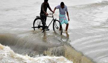 odisha flood situation improves slightly toll 19...