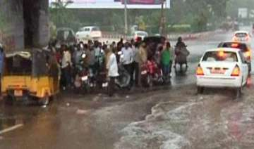 odisha lashed by rain - India TV
