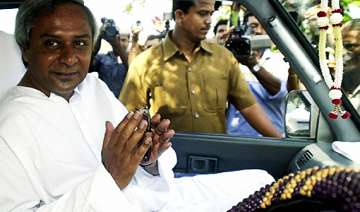 odisha cm leaves for delhi to attend internal...