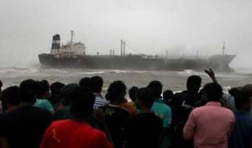 oil tanker runs aground off chennai 15 sailors...