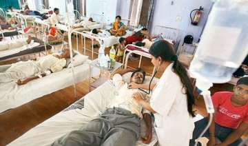 over 400 dengue cases reported in last three days...