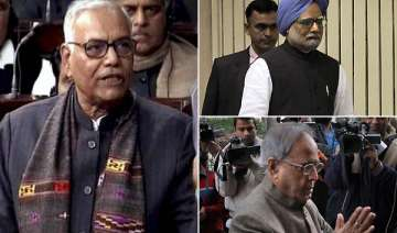 pm has no moral right to continue says bjp leader...