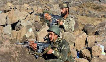 pakistani troops fire on indian posts across loc...